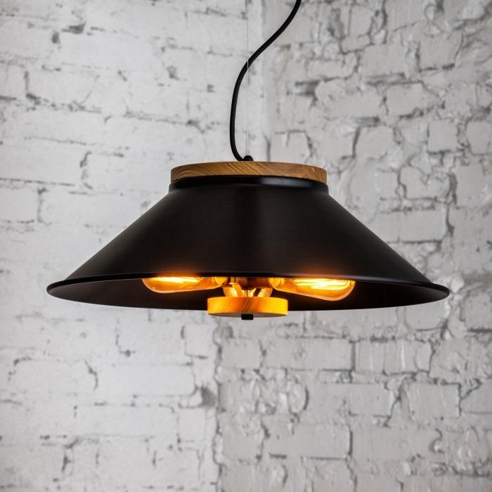 Светильник подвесной Urban light D500 Black