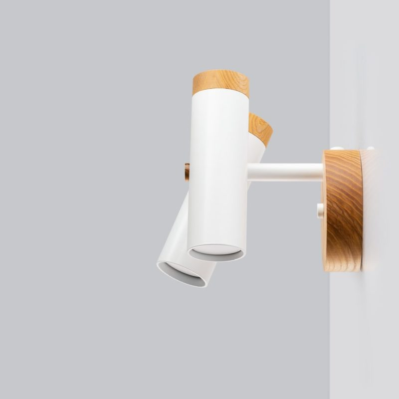 Светильник современный Бра лофт на стену белый  Urban Light double white