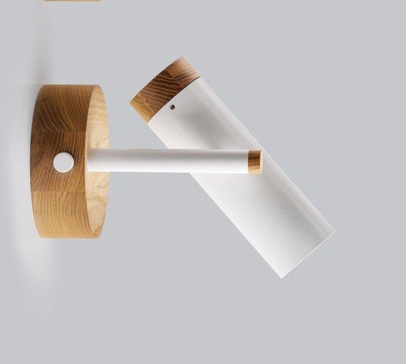 Светильник современный Бра лофт на стену белый Urban Light white