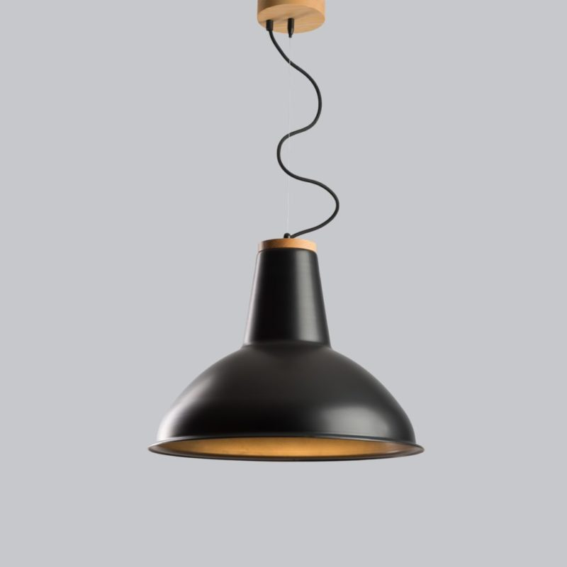 Светильник подвесной Urban light D460 Black