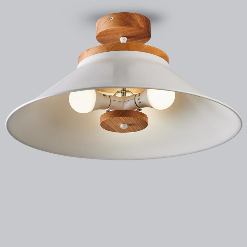 Светильник потолочный Schoolhouse light D500 White